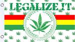 LEGALIZE IT FLY FLAG