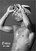 2Pac/Tupac Fabric Poster