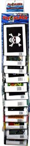 Fly Flags Alternative Culture Assorted 12pc Clip Strip Display Image