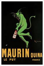 Maurin Quina by Cappiello 1920 Poster Image