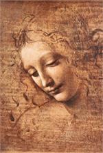 La Scapigliata by Leonardo Da Vinci Poster Inch