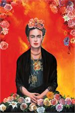 Frida Kahlo by Magrini Poster Image