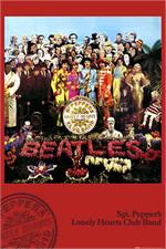 BEATLES SGT. PEPPERS POSTER - 24