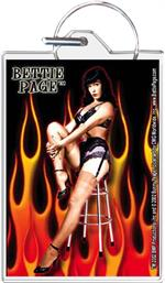 Bettie Page - Hot Keychain Clear Background Image