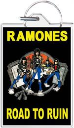 Ramones Road To Ruin Keychain Clear Background Image
