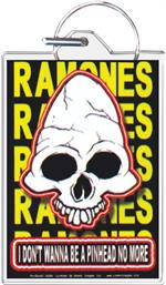 Ramones - I Don't Wanna Be A Pinhead Keychain Clear Background Image