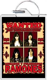 Ramones - Wanted Keychain Clear Background Image