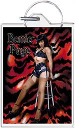 Bettie Page - Stool Keychain Image