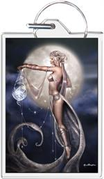Star Weaver By: Renee Biertempfel - Keyring Clear Background Image