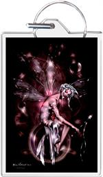 Orb Fairy By: Renee Biertempfel - Keyring Clear Background Image