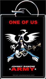 JOHNNY RAMONE ANIMATED ARMY - KEYRING