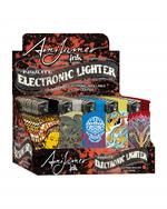 AMI JAMES TATTOO ELECTRONIC LIGHTERS - 50 PER DISPLAY #1