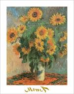 Sunflowers by Monet Poster Image
