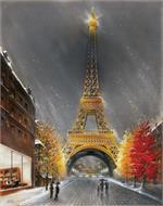 La Tour Eiffel by Magrini Mini Poster Image