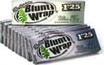 Blunt Wrap Silver Ultra Fine Rolling Papers - 1 1/4