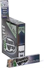 Blunt Wrap Silver Ultra Fine Papers - King Size Slim - 25pk/25cs