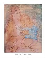 Mother and Child by Picasso Poster Image