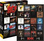 AC/DC DISCOGRAPHY - 1000 PIECE PUZZLE