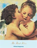 The First Kiss by Bouguereau 1890 Mini Poster Image