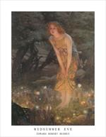 Midsummer Eve by Edward Robert Hughes Mini Poster Image