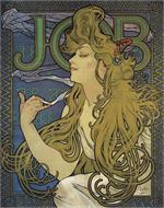 Job by Mucha 1897 Mini Poster Image