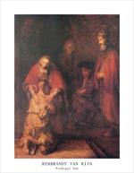 Prodigal Son by Rembrandt Mini Poster Image