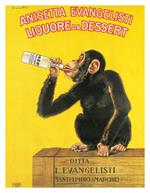 Liquore Da Dessert by Carlo Biscaretti Vintage Advertising Mini Poster Image