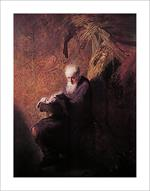 Philosopher Reading by Rembrandt Image