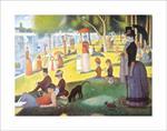 La Grande Jatte by Seurat Poster Image