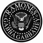 THE RAMONES LOGO - STICKER