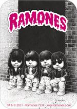 THE RAMONES GARBAGE PAIL KIDS - STICKER