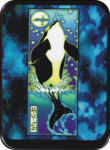 WHALE  - MIKIO KENNEDYLARGE STICKER - 2 1/2
