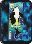 WHALE - MIKIO KENNEDY - MINI STICKER - 2