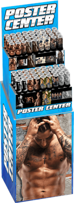 Sexy Men Themed Regular Posters Pre-Pack Display - 72pc Image