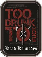 DEAD KENNEDYS TOO DRUNK  LARGE STASH TIN