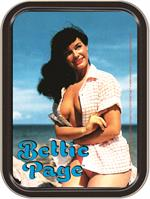 BETTIE PAGE BEACH  LARGE STASH TIN