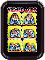 Stoned Agin - R. Crumb - Large Stash Tin Image