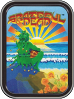 Grateful Dead - Sunset Jester - Large Stash Tin Image