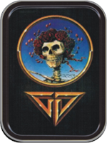 Grateful Dead - On The Road Large Stash Tin Image