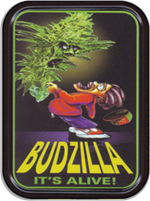 Mikio Kennedy - Budzilla Large Stash Tin Image