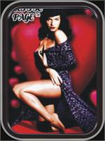 BETTIE PAGE ROBE LARGE STASH TIN
