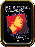 Jimi Hendrix - Electric Ladyland - Large Stash Tin Image