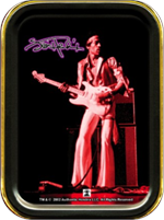 Jimi Hendrix - Guitar - Large Stash Tin Image