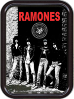 Ramones Rocket To Russia Large Stash Tin Image