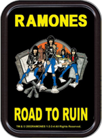 Ramones Road To Ruin Large Stash Tin Image
