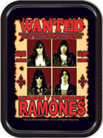 Ramones Wanted Large Stash Tin Image