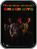 Jimi Hendrix Smash Hits Large Stash Tin Image