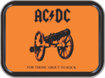 AC/DC For Those About To Rock Large Stash Tin Image