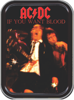 AC/DC If You Want Blood Large Stash Tin Image