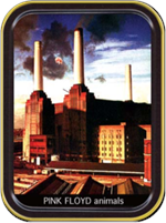 Pink Floyd - Animals - Large Stash Tin Image